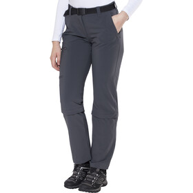 Maier Sports Arolla Pantalones Zip-Off Mujer, graphite